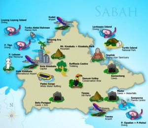 AirAsia Promotion Penang To Kota Kinabalu Sabah 2015