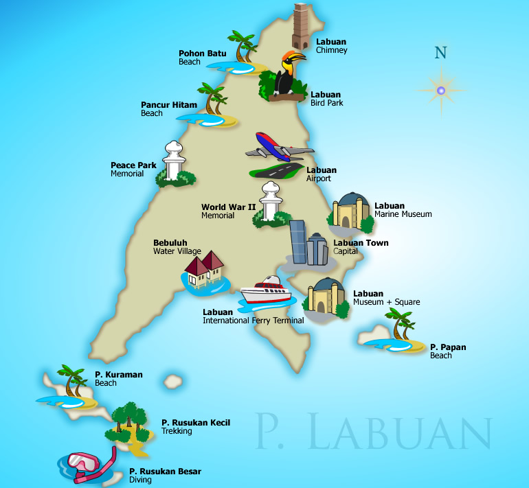 dating places in labuan