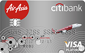airasia credit card promotion-airasia citi platinum visa credit card