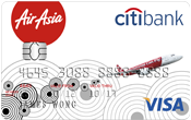 airasia credit card promotion-city gold visa credit card