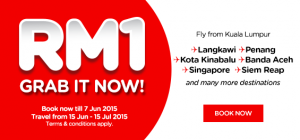 Cheap flight to Langkawi, Penang, Kota Kinabalu, Banda Aceh, Singapore and Siem Reap June 2015.