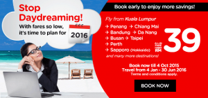 AirAsia MALAYSIA PROMO October 2015-Book cheap flights online to 21 countries