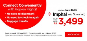 airasia promotion from india september 2015 - fly from new delhi
