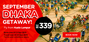 airasia promotion from kuala lumpur to dhaka 2015