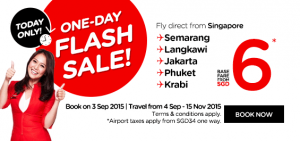 airasia promotion singapore september 2015
