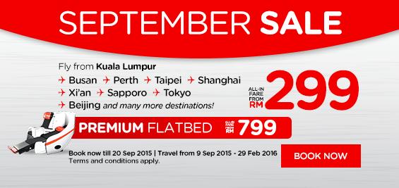 AirAsia Promotion September 2015