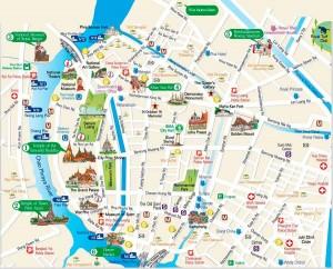bangkok-tourist-map 2015