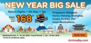 AirAsiaGo Promotion January 2016 - New Year Big Sale