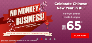 airasia promotion chinese new year 2016 BIG SALE from BND 65