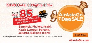 airasiago promotions january 2016 - FREE flights