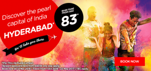 airasia promotions singapore march 2016-discover hyderabad india