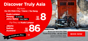 airasia promotions vietnam march 2016 - discover truly asia