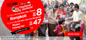 airasia promotions vietnam march 2016 - fly from ho chi minh city or hanoi