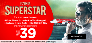 airasia latest news july 2016 - fly like a superstar