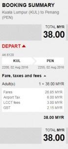 airasia latest news july 2016 - kuala lumpur -penang promotions