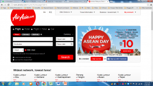 AirAsia Online Booking Official Websites