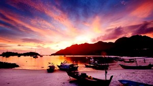 Cheap Flights Kuala Lumpur To Langkawi August 2016-Amazing Langkawi Island Sunset