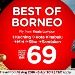 Hurry !!! AirAsia Booking Kota Kinabalu Sabah 2016 – Expires on 21 August 2016