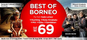 airasia booking august 2016-best of borneo-from kuala lumpur