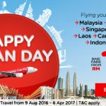 AirAsia Malaysia Booking August 2016 As Low As RM10