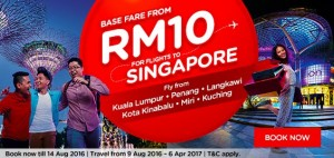 airasia malaysia booking online august 2016-flights to singapore