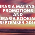 AirAsia Malaysia Promotions And Booking Online September 2016