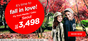 airasia philippines online booking and promotion september 2016-manila-cebu to seoul