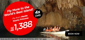 airasia philippines online booking and promotion september 2016-manila to puerto princesa
