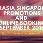 AirAsia Singapore Airlines Promotion And Online Booking September 2016