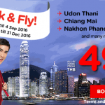 AirAsia Thailand Airlines Online Booking And Promotions September 2016