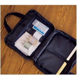 inside travel pouch