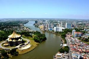 AirAsia Go fly free from Kuala Lumpur to Kuching Sarawak March 2017- kuching waterfront