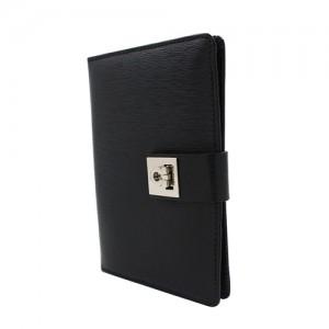 ranulf von brandenburg leather passport holder
